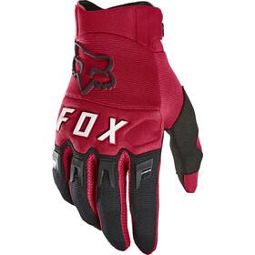 Fox Dirtpaw Guantes Hombre, rojo